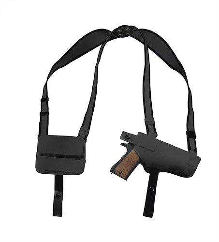 Roma Leathers Nylon Concealment Shoulder Holster, Black