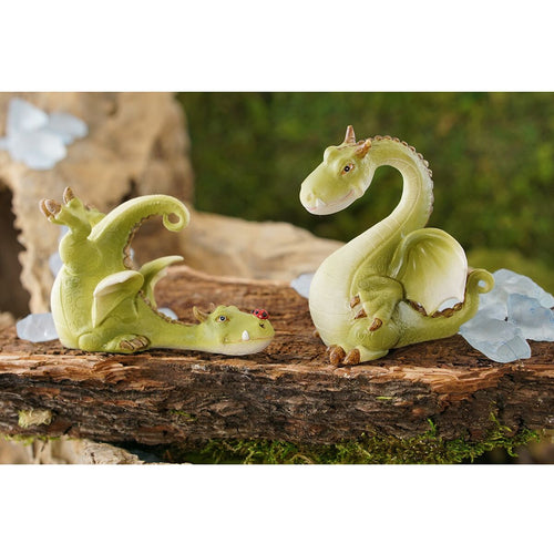 Top Collection Miniature Dragon Garden Statue