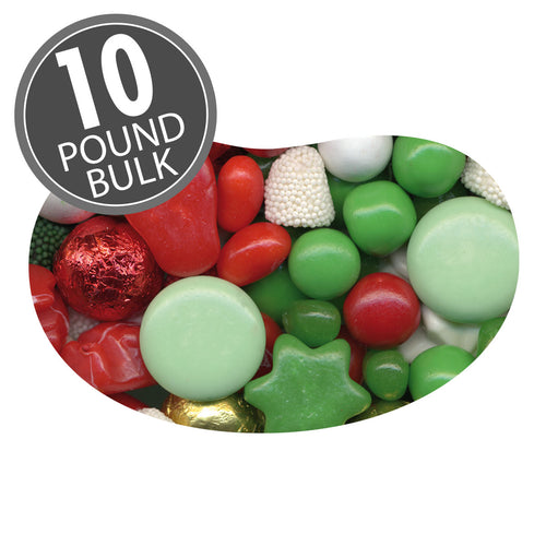 Jelly Belly Christmas Deluxe Candy Mix 10 Pounds Bulk