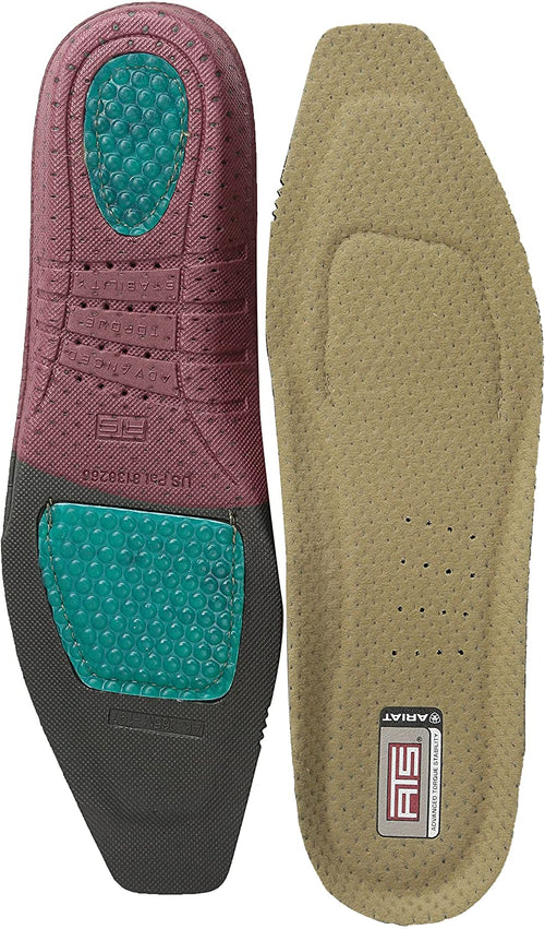 Ariat Men's ATS Shoe Insert Square Toe Insole Footbeds