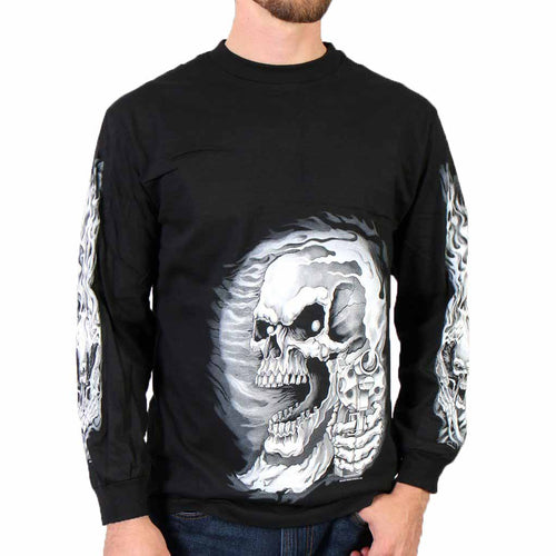 Hot Leathers Assassin Double Sided Long Sleeve T-Shirt