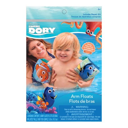 Finding Dory Nemo Inflatable Arm Floats Water Wings