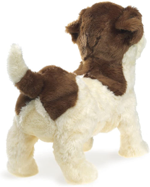 Folkmanis High Quality Domestic Animal Puppets, Jack Russel Terrier