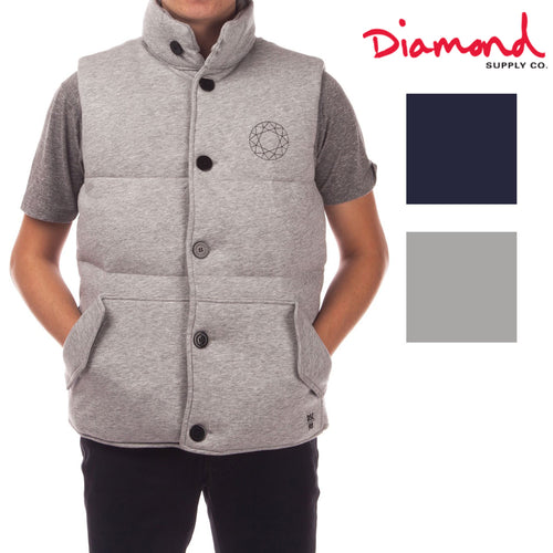 Diamond Supply Co. Mens DTC Puffer Vest