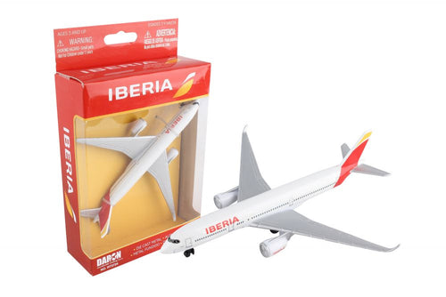 Daron Iberia Die Cast Collectible Single Plane