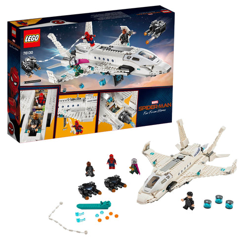 LEGO Marvel Spider-Man: Stark Jet and the Drone Attack (76130,504 Pcs)