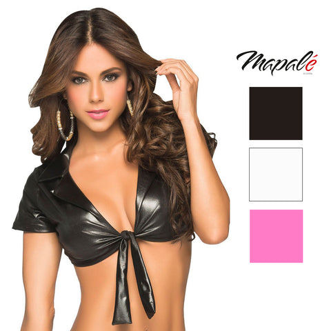 63b2cf66563 Mapale Womens Sexy Tie Front Lingerie Costume Crop Top. Mapale.   16.99.  Mapale Womens Ice Queen Fantasy ...