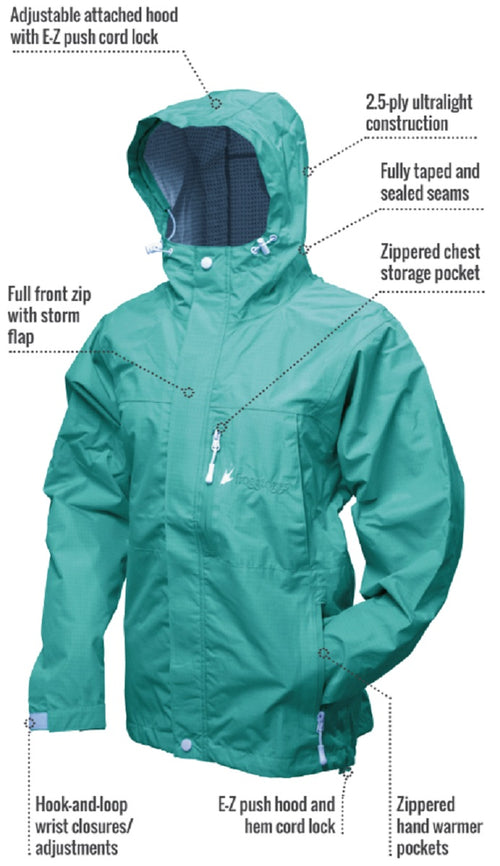 Frogg toggs® Womens Java ToadZ™ 2.5 Rain Jacket