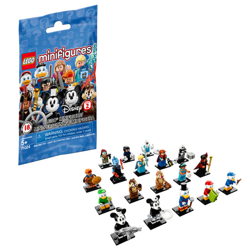 LEGO Minifigures Disney Series 2 Collectible Character Surprise Bag (71024)