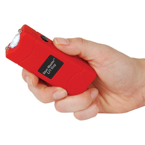 Safety Technology Stun Master L'il Guy Stun Gun Flashlight Combo (Red)