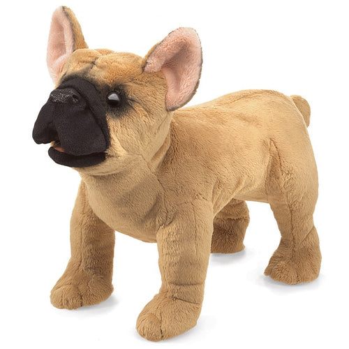 Folkmanis High Quality Domestic Animal Puppets, French Bulldog