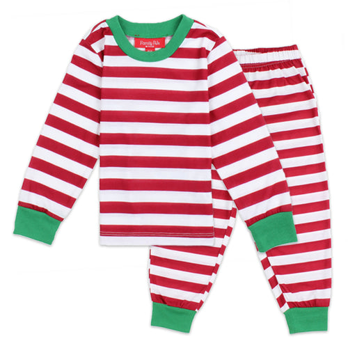 Family PJs Kids Holiday 2-Piece Long Sleeve Pajama Set
