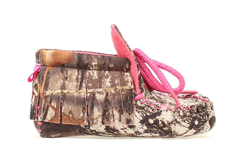 Blazin Roxx Infant Girls Mossy Oak Bootie Slippers Gift Pack