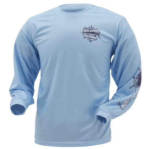 Frogg Toggs Mens Salt Shaker Hooded Performance Shirt