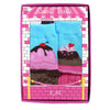 K. Bell Baby Sweet Treats Adorable 2 Pack Gift Set Infant Socks (0-12 Months)