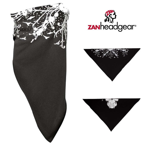 ZAN Headgear 3-IN-1 Bandana Under Helmet Skullcap Headband Facemask One Size