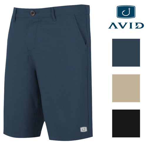 AVID Sportswear Mens Core Fishing Hybrid AVIDry Walkshort