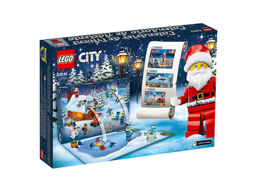 LEGO City Advent Calendar Building Toy Set (60235, 234 Pcs)