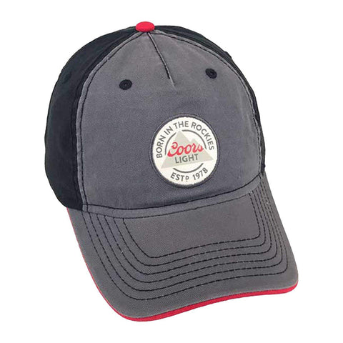 H3 Headwear Coors Light Circle Logo Adjustable Snapback Hat