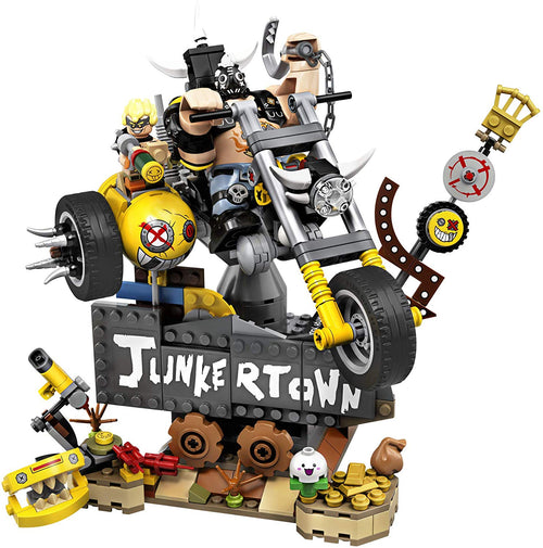 LEGO Overwatch Junkrat & Roadhog Building Kit (380 Pieces)