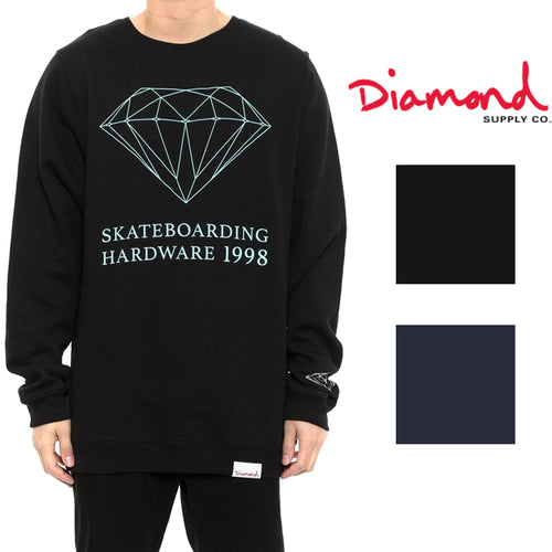 Diamond Supply Co Mens Skate Hardware Crew Neck Sweatshirt
