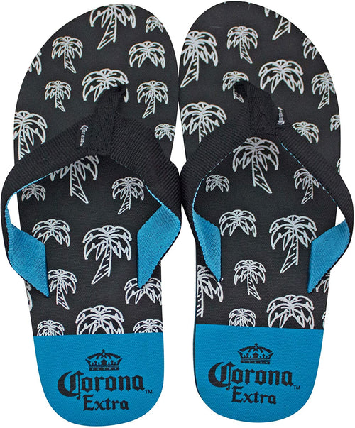 Corona Extra Mens Patterned Flip Flop Sandals