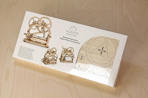 UGears Plywood Mechanical Box Collectible Model