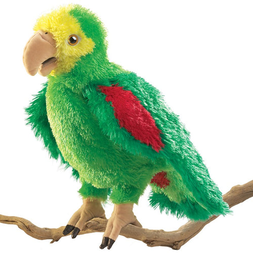 Folkmanis Play Pretend Animal Puppet, Amazon Parrot