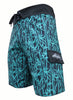 "Tormenter Men's Reef Break SPF-35 9.5"" Board Shorts"