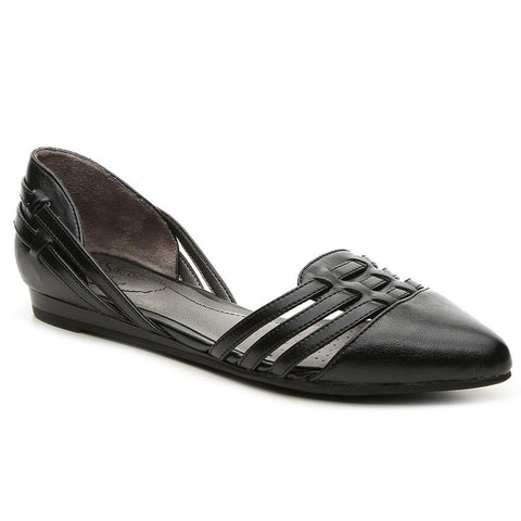 LifeStride Womens Qutie D'Orsay Slip On Flats