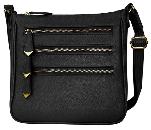 Roma Leathers Concealed Carry Gun Crossbody Purse