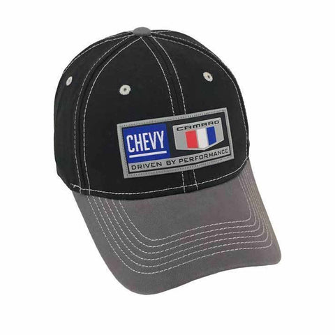 H3 Headwear Chevy Camaro Driven By Performance Patch Adjustable Velcroback  Hat