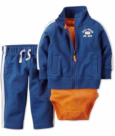 Carters Boys 3 Piece Matching Outfit Set