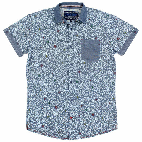 Tranquility & Mayhem Best In Show Men's Short Sleeve Button Down Shirt