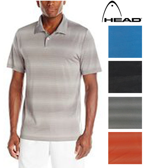 HEAD Men's Dri-Motion Power Performance Polo Shirt