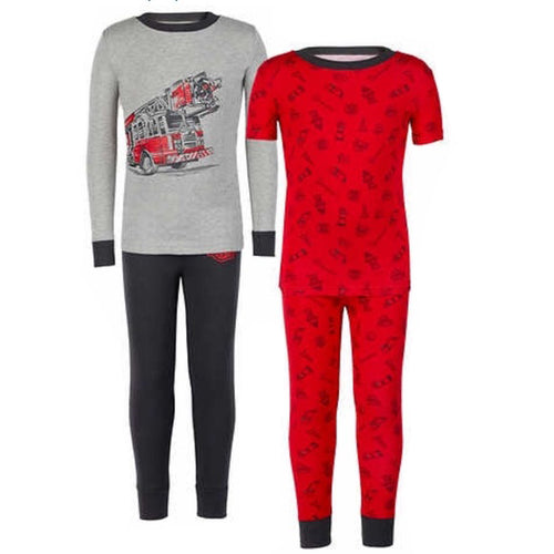 Kirkland Signature Boys 4 Piece PJ Set