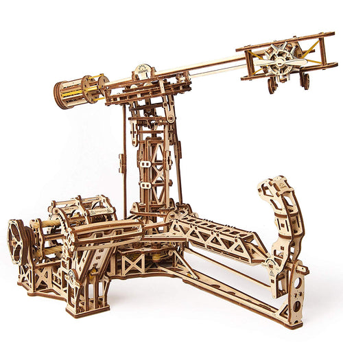 Ugears Plywood Aviator Collectible Mechanical Model