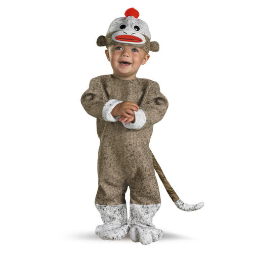 Disguise Too Cute to Spook Infant Sock Monkey Costume (12-18 Months)
