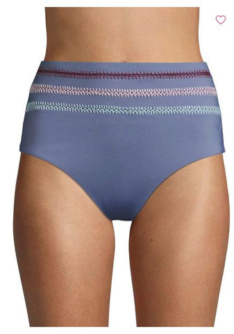 Dolce Vita Womens Kokomo High Waist Swim Bikini Bottom