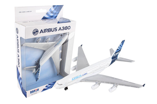 Daron Airbus A380 Die Cast Metal Collectible Single Airplane