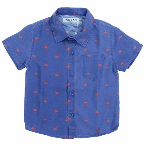 Ingear Resort Boys Short Sleeve Lux Shirt