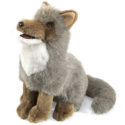 Folkmanis Play Pretend Animal Puppet, Coyote