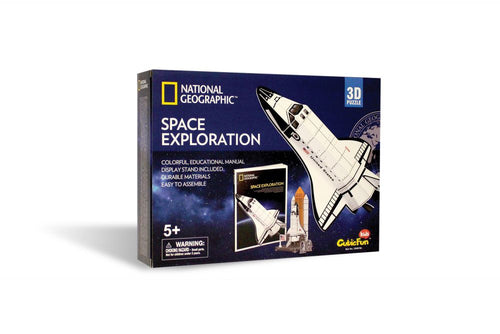 Daron National Geographic Space Exploration Space Shuttle 3D Puzzle 65 Piece