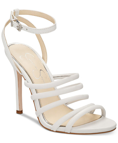 Jessica Simpson Womens Joselle Strappy Dress Heeled Sandal