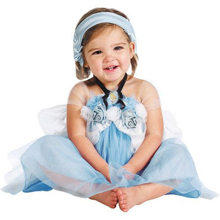 Disguise Disney Baby Deluxe Cinderella Infant Costume (12-18M)