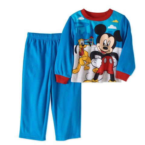 Mickey Mouse Baby and Toddler Boys Poly 2pc Set Pajama
