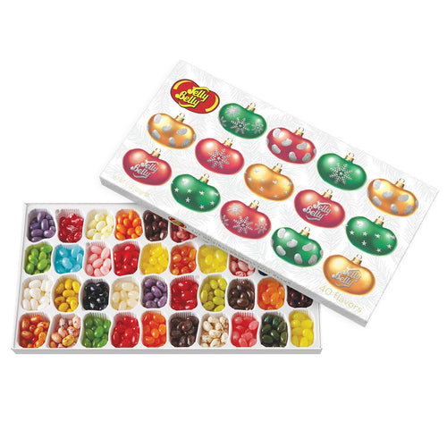 Jelly Belly 40 Flavors Jelly Beans Christmas Gift Box