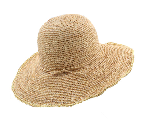 Tommy Bahama Women Florabella Shapeable Sequin Trim Sun Hat (Natural,One Size)