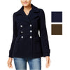 CoffeeShop Juniors Woven Peacoat Jacket
