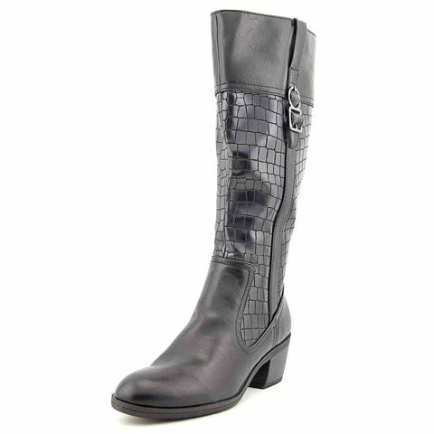 Life Stride Wish Wide-Calf Boots (Black, 6W)